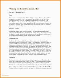 Impressive Basic Business Letter Format Example Letsbetourists