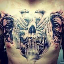 Tetování Na Hrudník Muž