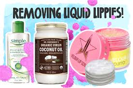 the best ways to remove liquid lipstick