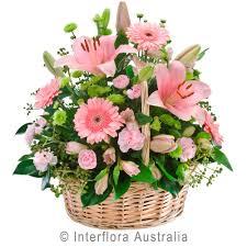 Basket Flower Decoration Endearment Flowerbasket