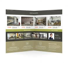 apartment brochures apartment for rent bifold halffold brochure 2 by mike_pantone