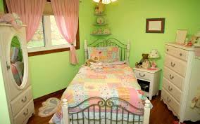 Pink And Green Bedroom Bedroom Likable Kid Room Design With White Wooden Small Table