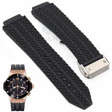 online get cheap silicone watch strap aliexpress com alibaba group 26 25mm x 19mm silicone watch strap band men black waterproof rubber watchbands metal buckle