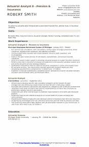 Actuary Resume Actuarial Analyst Resume Samples QwikResume 22