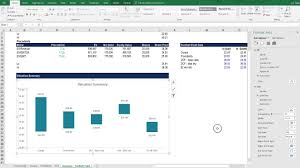 Building And Formatting A Football Field Chart In Excel Business Valuation Modeling Course
