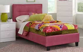 pink upholstered bed. Emory Pink Full Upholstered Bed