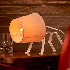 Auraglow Mysa Dog Style Table Lamp E14 The Bailey Auraglow Led