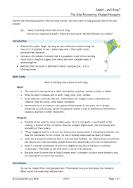 ks the kite runner by khaled hosseini teachit english  2 preview