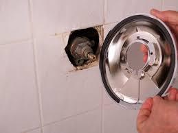how to install shower valve trim place trim