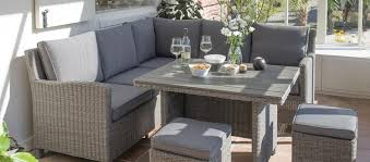 Outdoor Sofa And Dining Table Set
