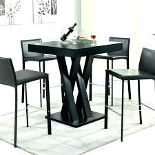 high top kitchen table and chairs gloss tall round kitc