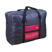 Generic Foldable <b>Nylon</b> Carry-on <b>Bag</b>, Dual Strap, <b>Waterproof Large</b> ...