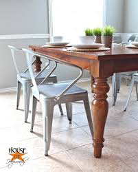industrial farmhouse furniture. Metal Chairs With Industrial Farmhouse Furniture