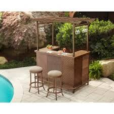 3 piece patio bar set. Exellent Set Review Detail Hampton Bay Decker 3Piece Patio Pergola Bar SetLDN1167SST On 3 Piece Set L