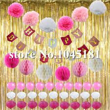 Pom Pom Decorations Popular Pom Pom Birthday Decoration Buy Cheap Pom Pom Birthday
