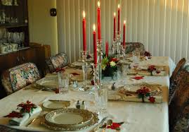 Setting A Dinner Table Holiday Table Setting Centerpiece Ideas For Christmas Dinner