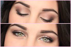 daytime eye makeup for green eyes photo 2