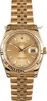 men s used rolex watch 116238 18k gold at bob s watches click image above to enlarge