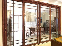 double glazed glass door aluminum windows and door grills design with inside blinds