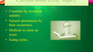 classification essay prompts  classification essay prompts