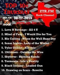 Tyler Gilbert Radio Charts