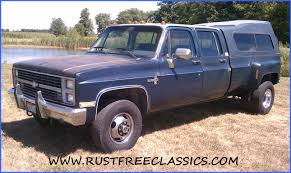 1986 86 Chevrolet Chevy K30 1 one ton 4x4 Four Wheel Drive Regular ...