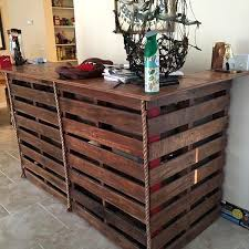 Gorgeous Picket Pallet Bar DIY Ideas for Your Home! ---- Plans DIY