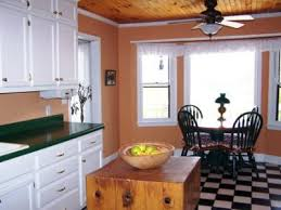 re advice on painting kitchen with green countertops white cabinets