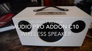 <b>Audio Pro Addon C10</b> Wireless Speaker Test & Review By The HiFi ...