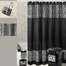 Comfy Black Interdesign Poly Waterproof Shower Curtain Liner
