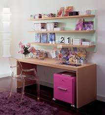 Study Table and Shelves