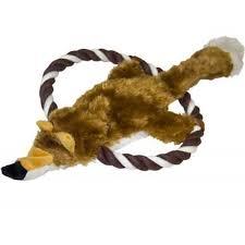<b>Игрушка для собак MAJOR</b> Лиса на кольце из каната 31см