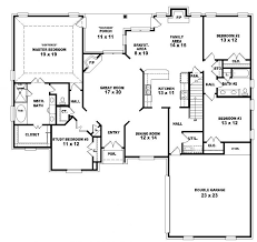 4 Bedroom 2 Story House Plans Photo   1