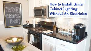 under cabinet lighting without wiring. Typical Wiring For Under Cabinet Lighting Kitchen Lanzaroteya Without