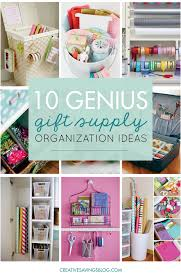 10 genius ideas to organize your gift supplies i having to pull a giant