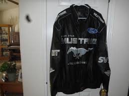 details about jh design ford mustang 40th anniversary leather jacket size l