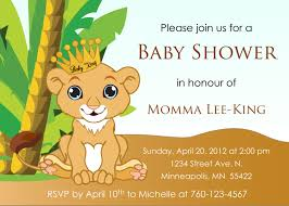Lion King Bedroom Decorations King Simba Baby Shower Theme