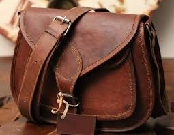 handmade genuine leather sling purse bag for women by leather panache made in india