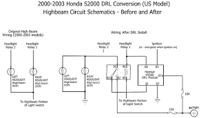 wiring diagram for led daytime running lights the wiring diagram s2000 drl install andrew lavigne s website wiring diagram