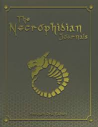 The Necrophidian Journals Hexagon Grid Edition Graph Paper Book