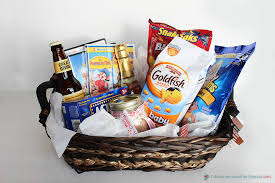 5 creative gift baskets a night basket means fun for the whole family