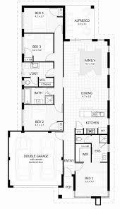 single floor house plans elegant 4 bedroom story south africa australia single story 4 bedroom house