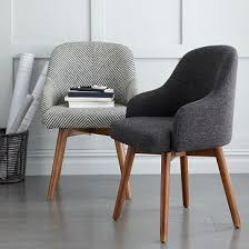 modern home office chair. bentwood office chair cushion west elm modern home h