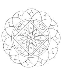 Mandala A Imprimer 2 Coloriage Mandalas Coloriages Pour Enfants