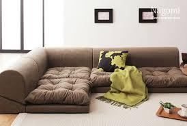 Rakuten: Floor corner sofa Nagomi