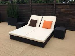 Chaise Double Chaise Lounge Outdoor Patio Chairs Costco Cushions