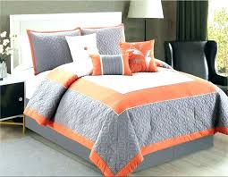 green stripe comforter charming design orange and grey comforter fancy queen gray set blue rugby stripe