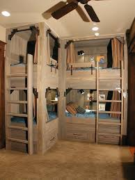 built into wall bed. Bed Built Into Wall Kids Rustic With Light Wood Bunk Beds .