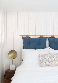 bedroom nook diy wood paneling