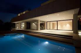 beach house lighting ideas. Unique Infinity Pool Beach House Living Room Photography Or Other Backyard Lighting Ideas Modern Design With Light Brown And Cream Exterior Color G